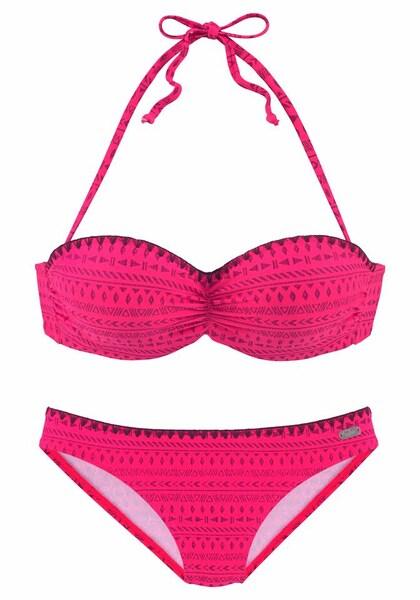 Bademode - Bikini › Buffalo › dunkelpink  - Onlineshop ABOUT YOU