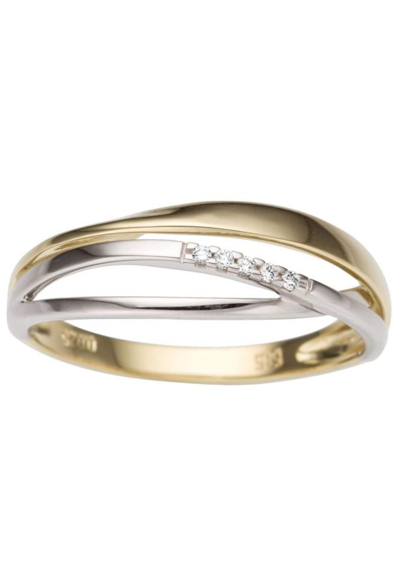 Damen FIRETTI Ring gold,  silber | 04041633995284