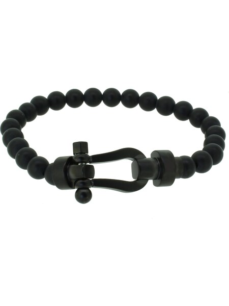 Armbaender - Armband 'Happiness Collection 110541' › Hafen Klunker › schwarz  - Onlineshop ABOUT YOU
