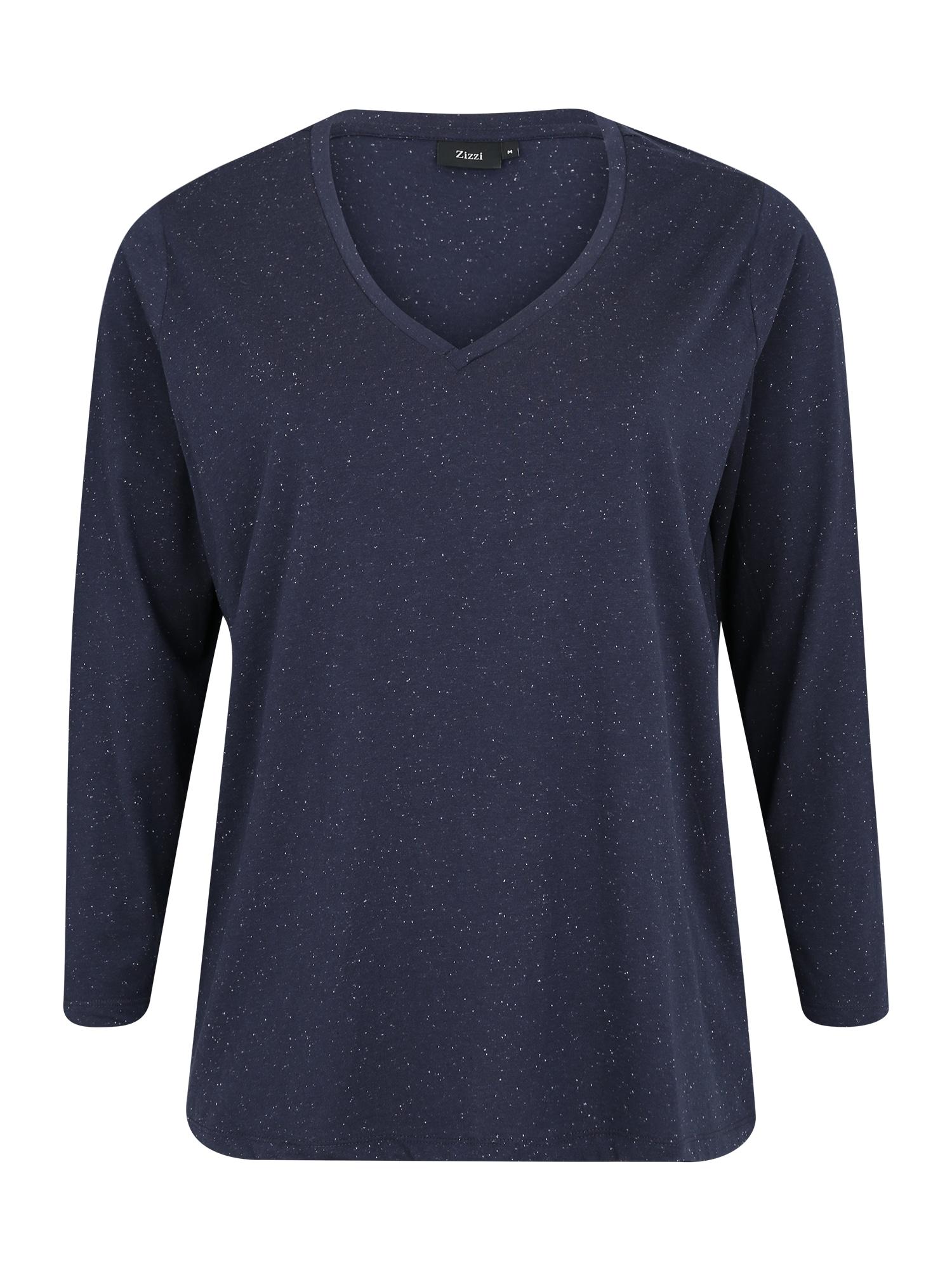 Zizzi Marškinėliai 'MCHLOÉ' tamsiai mėlyna