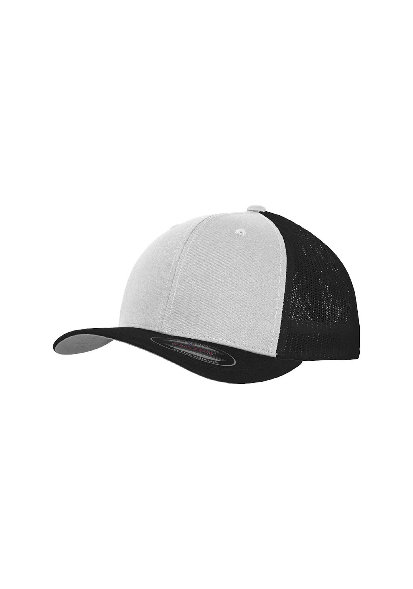 Flexfit Kepurė juoda / balta