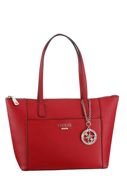 Shopper für Frauen - Shopper 'Alma Tote' › Guess › rot  - Onlineshop ABOUT YOU