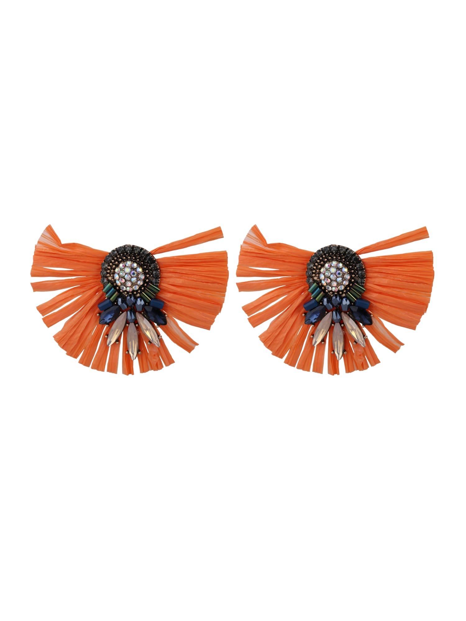 Náušnice oranžová Sweet Deluxe