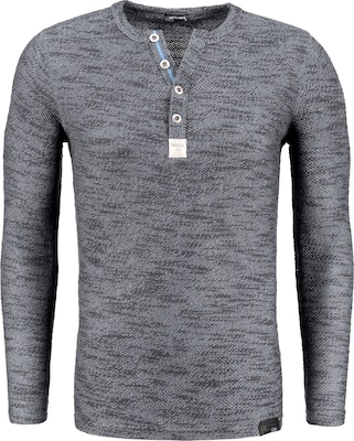 Key Largo Pullover 'Thunder'