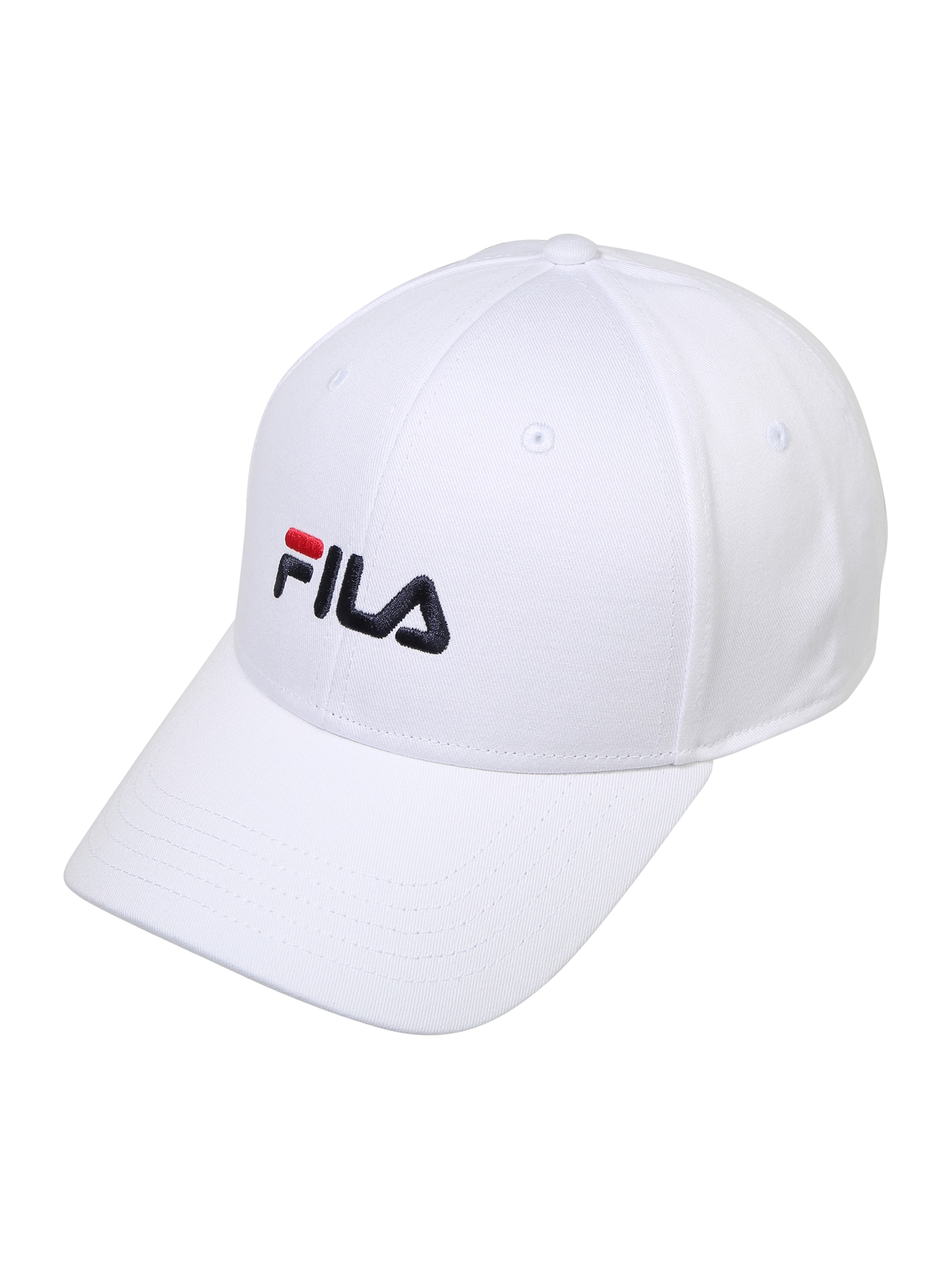FILA Kepurė balta / tamsiai mėlyna