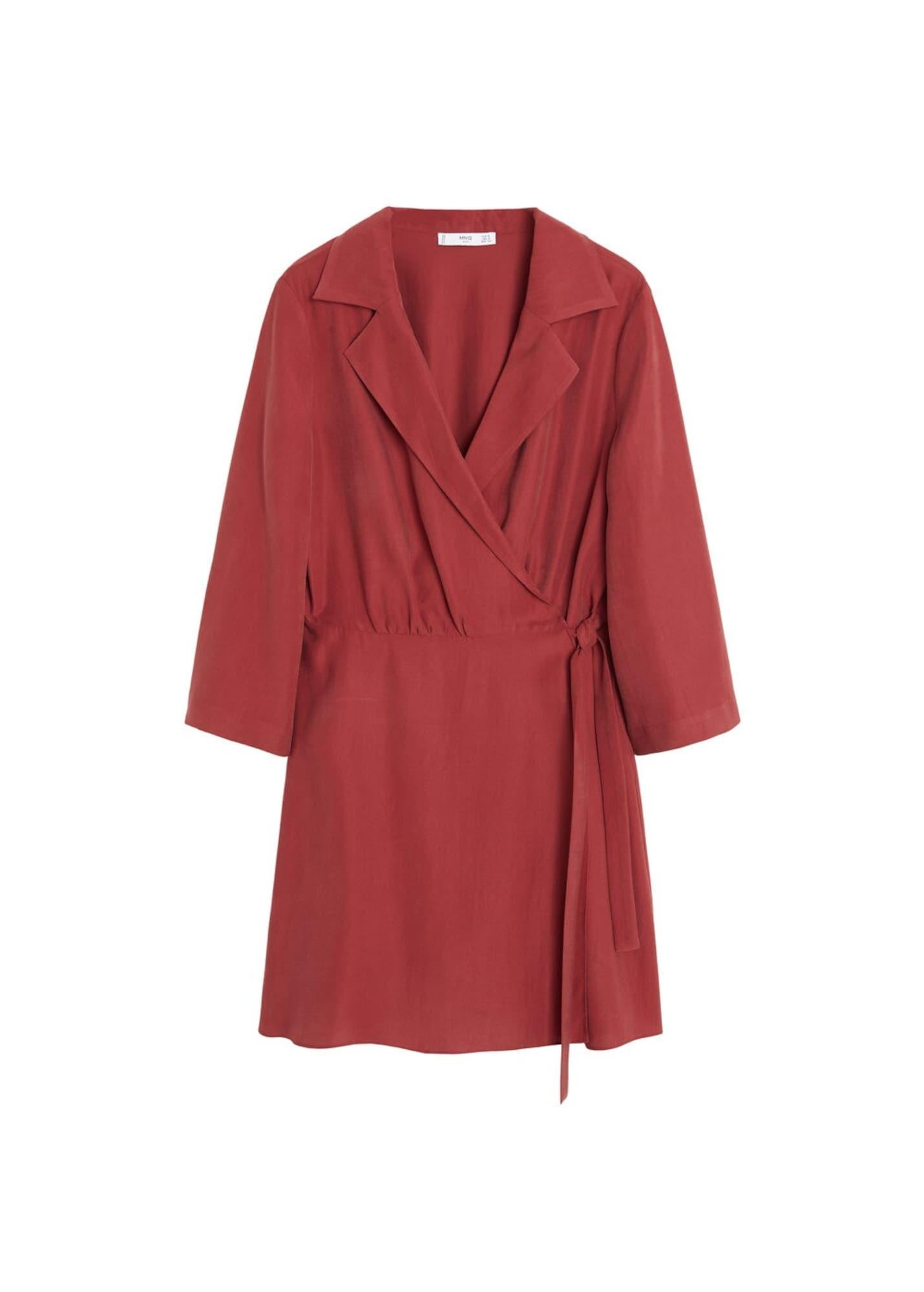 MANGO Letné šaty 'Calain'  červená