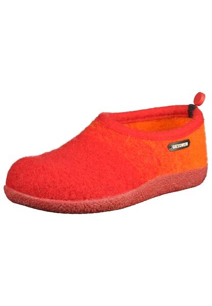 Hausschuhe für Frauen - GIESSWEIN Hausschuhe orange orangerot  - Onlineshop ABOUT YOU