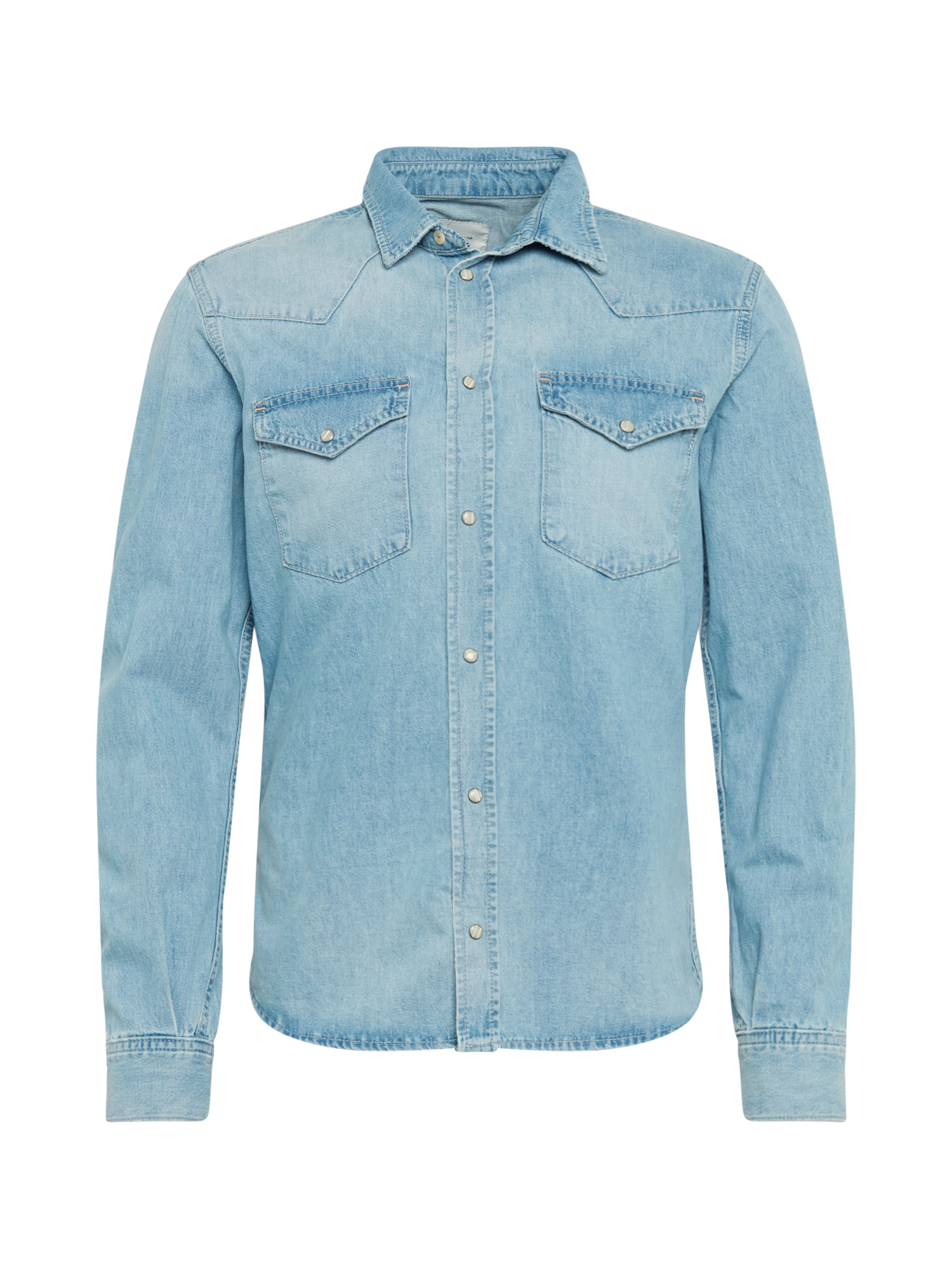 Pepe Jeans Dalykiniai marškiniai 'NATHAN' tamsiai (džinso) mėlyna