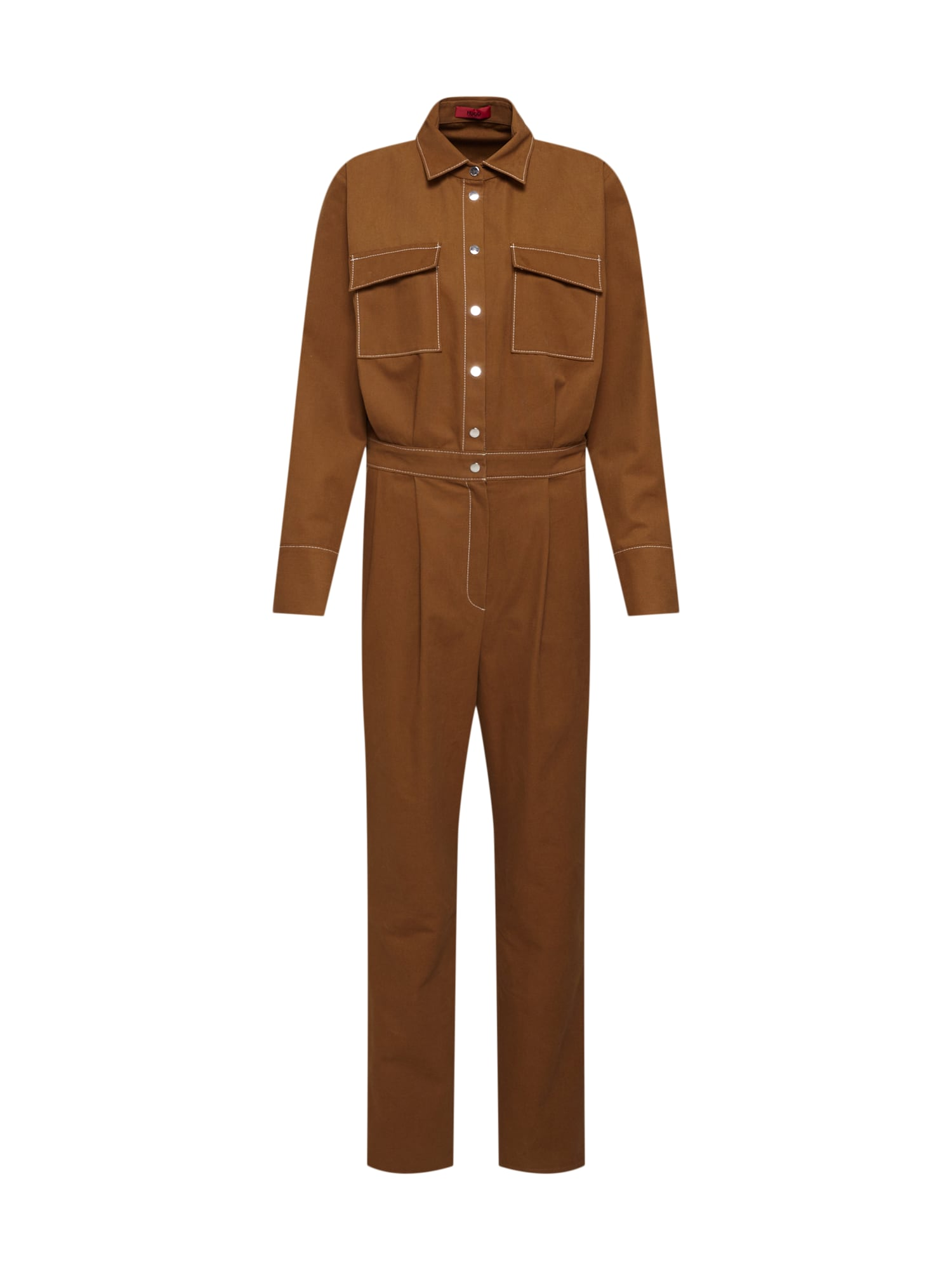 HUGO Kombinezono tipo kostiumas 'Kejump' ruda (konjako)