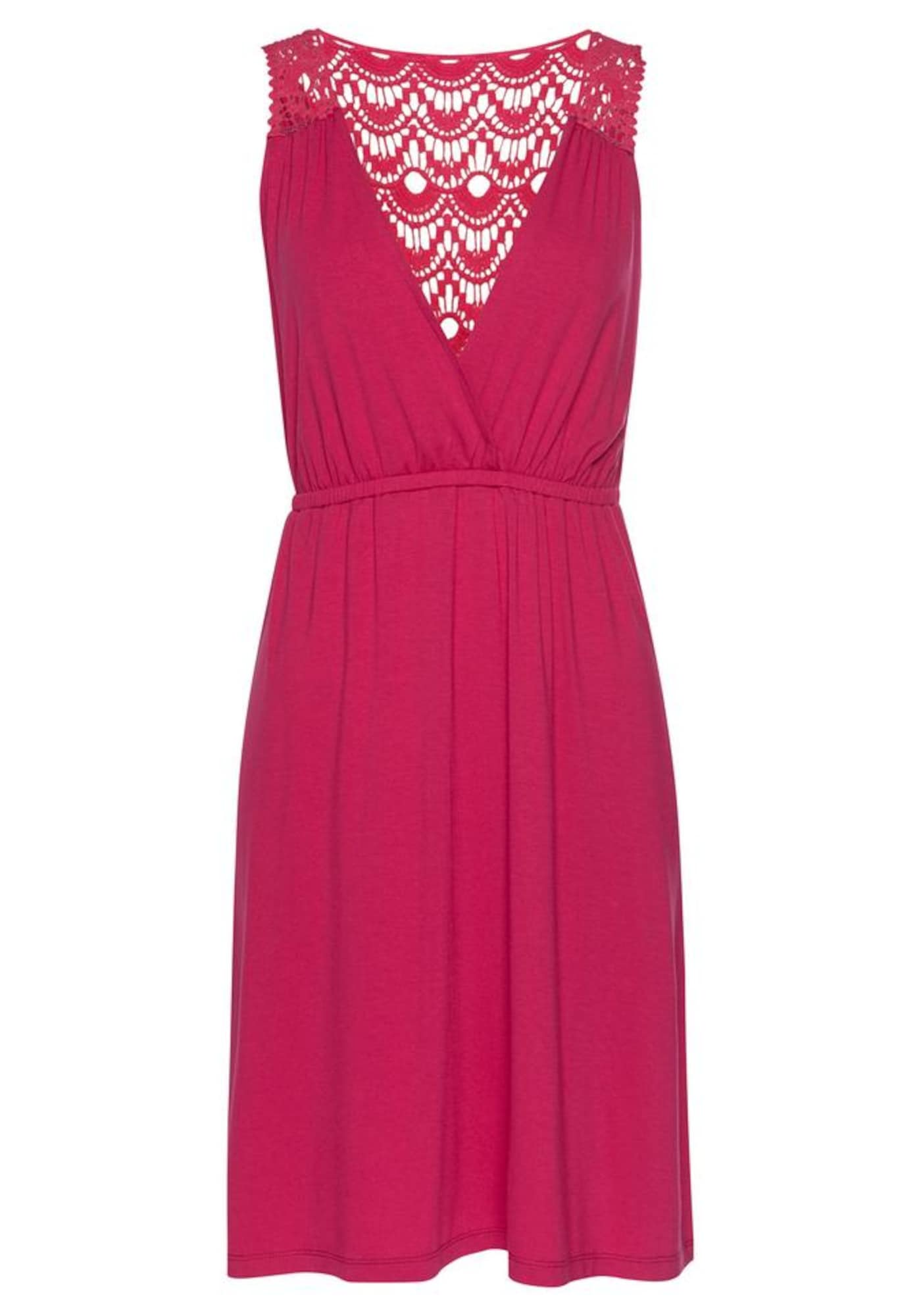 s.Oliver Paplūdimio suknelė rožinė