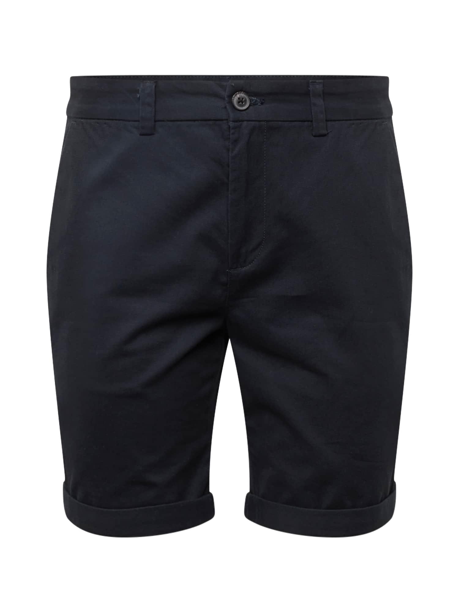 Chino kalhoty navy NEW LOOK