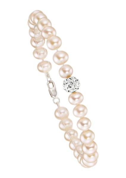 Armbaender für Frauen - FIRETTI Armband mit Perlen und Zirkonia silber  - Onlineshop ABOUT YOU