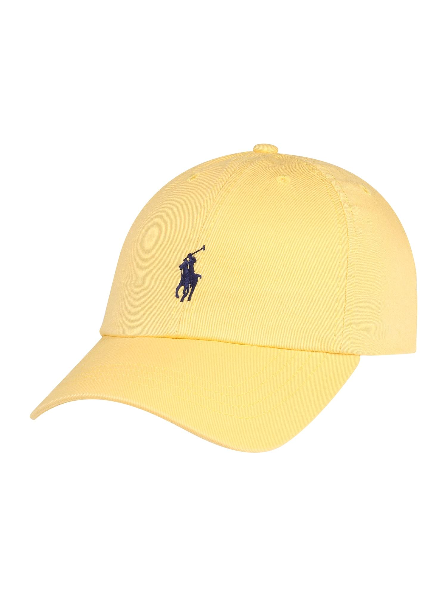 Klobouk CHINO TWILL-CLASSIC CAP-AC-HAT žlutá POLO RALPH LAUREN
