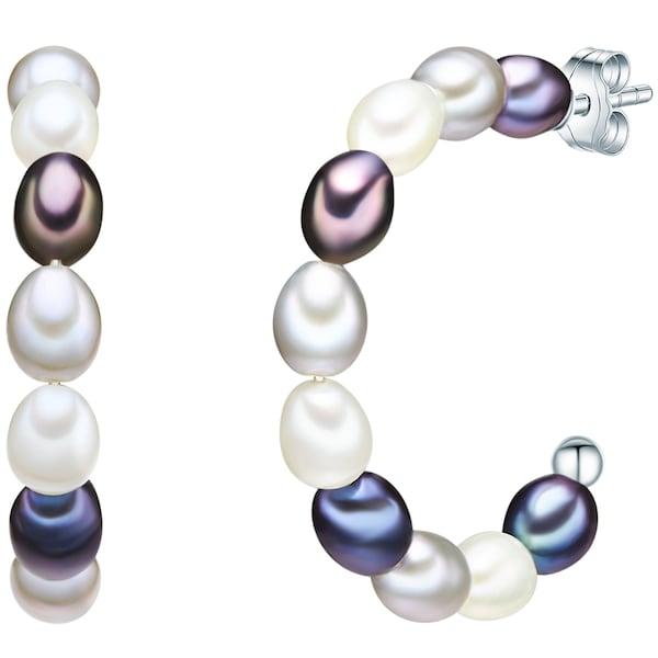 Ohrringe für Frauen - Valero Pearls Silberohrstecker Zuchtperlen perlweiß  - Onlineshop ABOUT YOU
