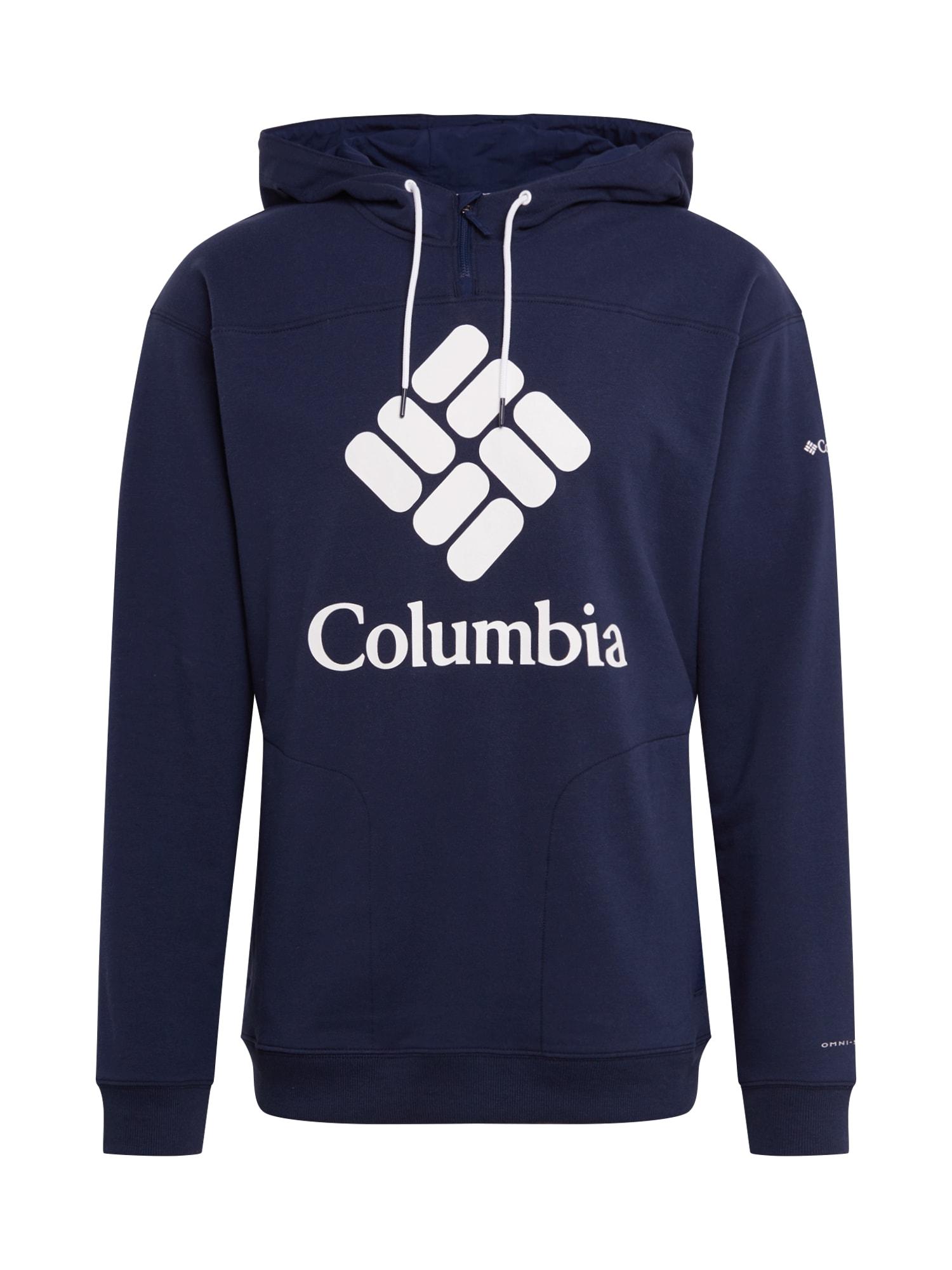 COLUMBIA Megztinis be užsegimo 'Lodge Fr Terry' mėlyna / tamsiai mėlyna