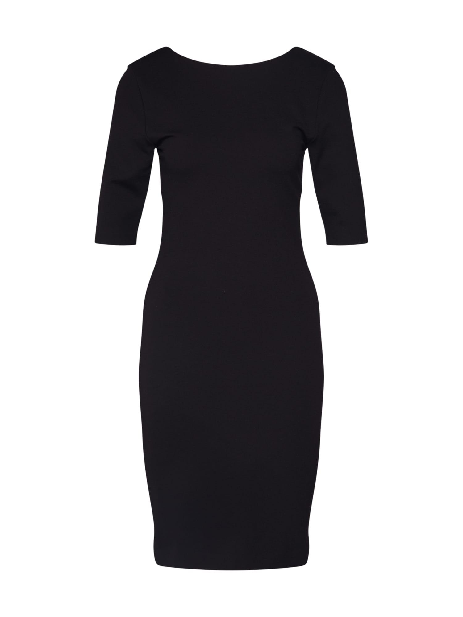 HUGO Kokteilinė suknelė 'Nylie' juoda