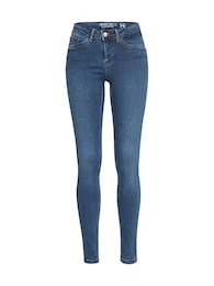Damen Noisy May Slimfit-Jeans blau | 05713721846073