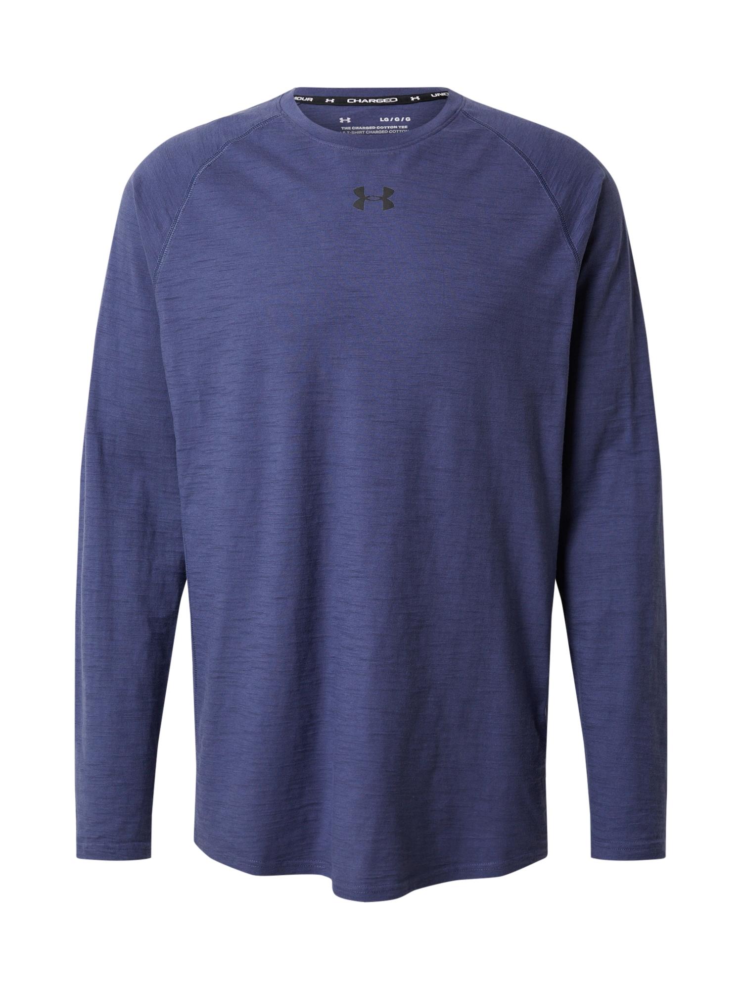 UNDER ARMOUR Funkčné tričko 'Charged Cotton'  námornícka modrá