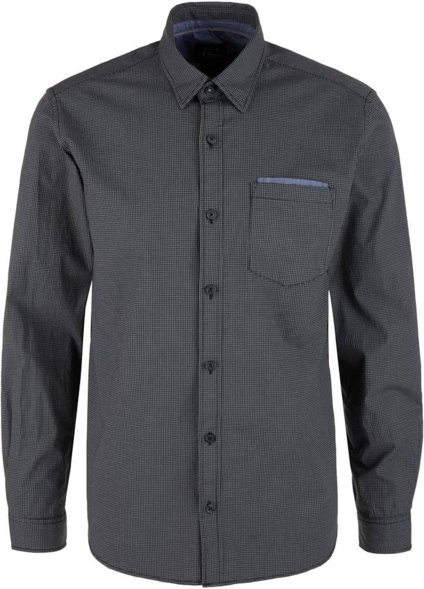 s.Oliver Marškiniai šviesiai pilka / tamsiai pilka