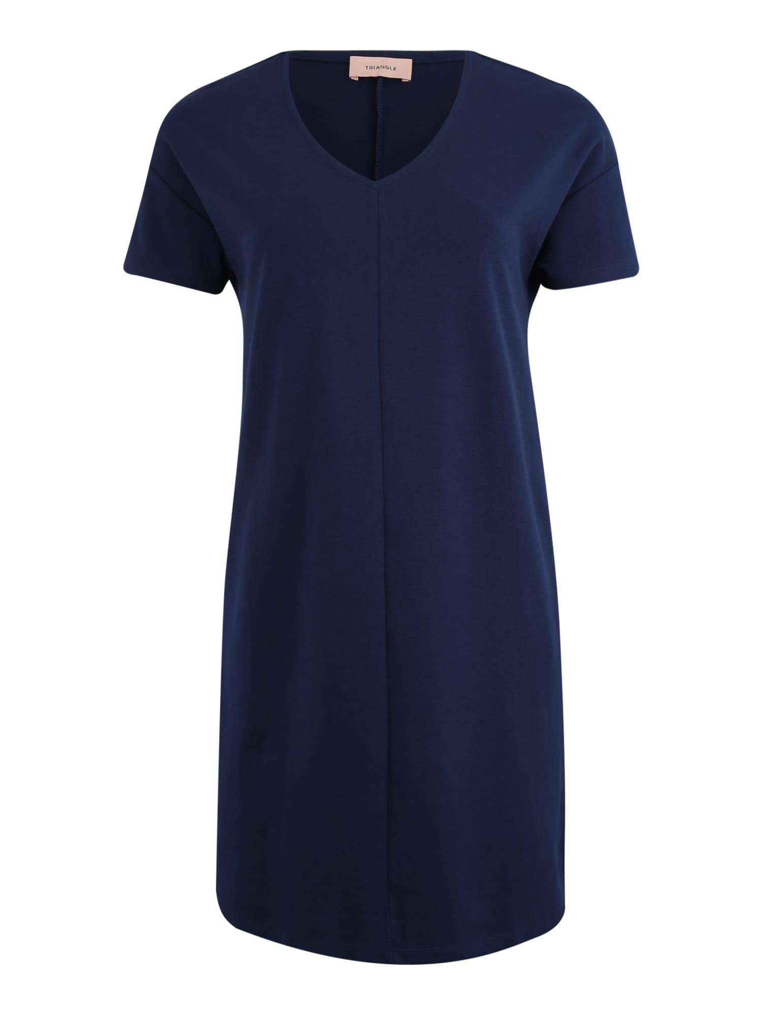Šaty noční modrá TRIANGLE
