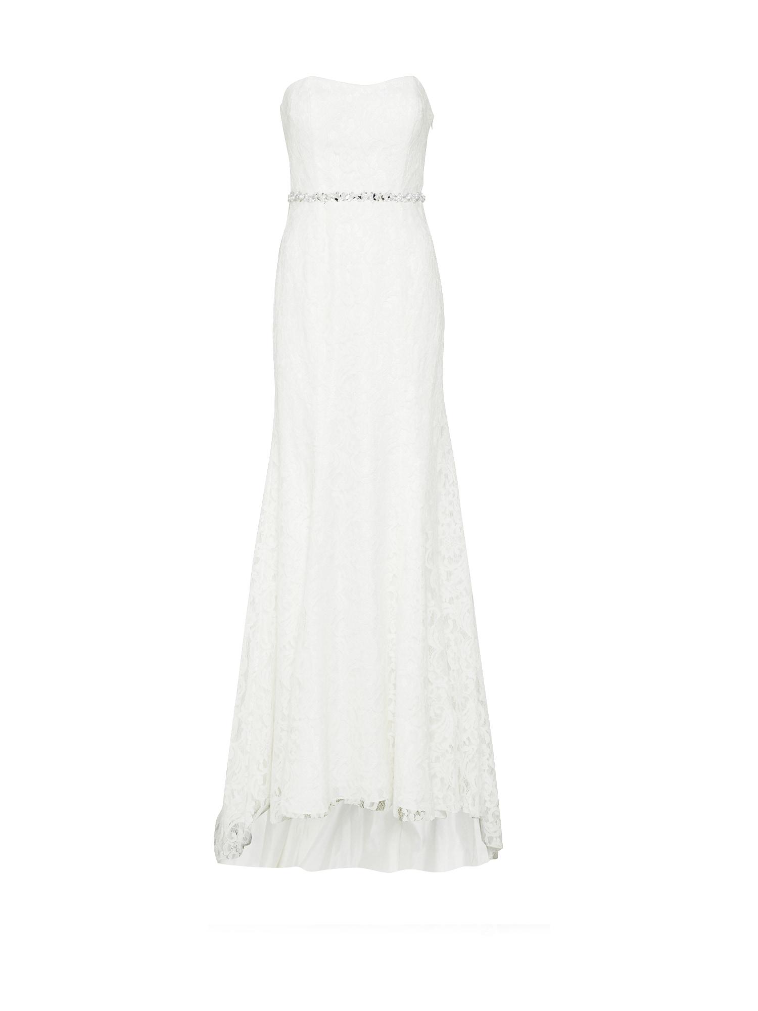 Společenské šaty bílá Unique