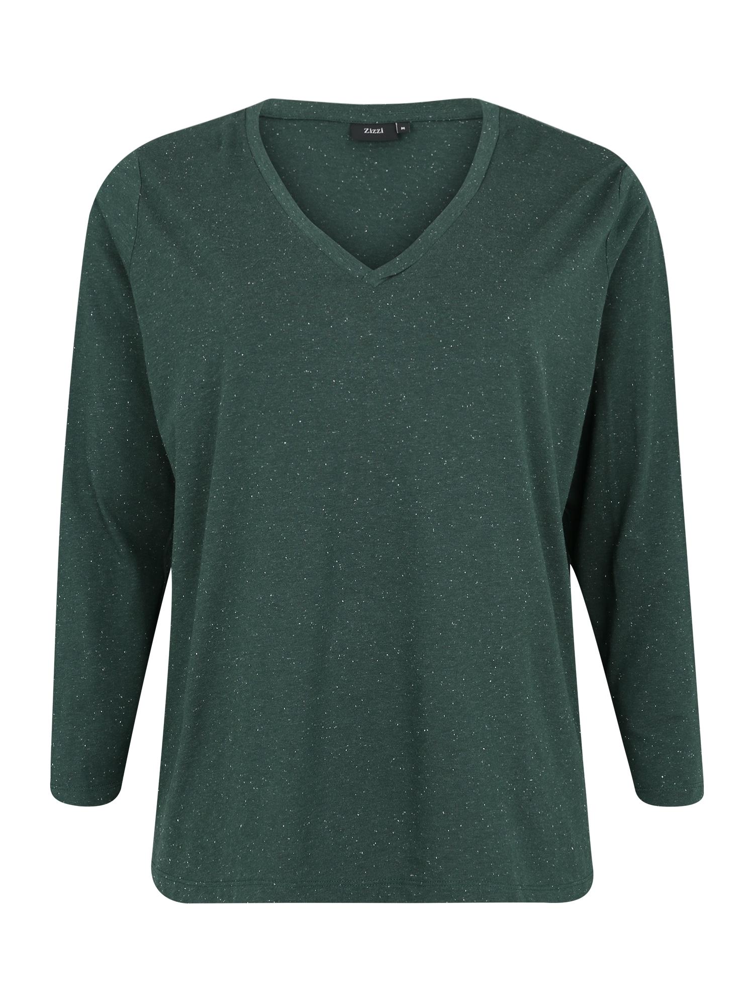 Zizzi Marškinėliai 'MCHLOÉ' įdegio spalva
