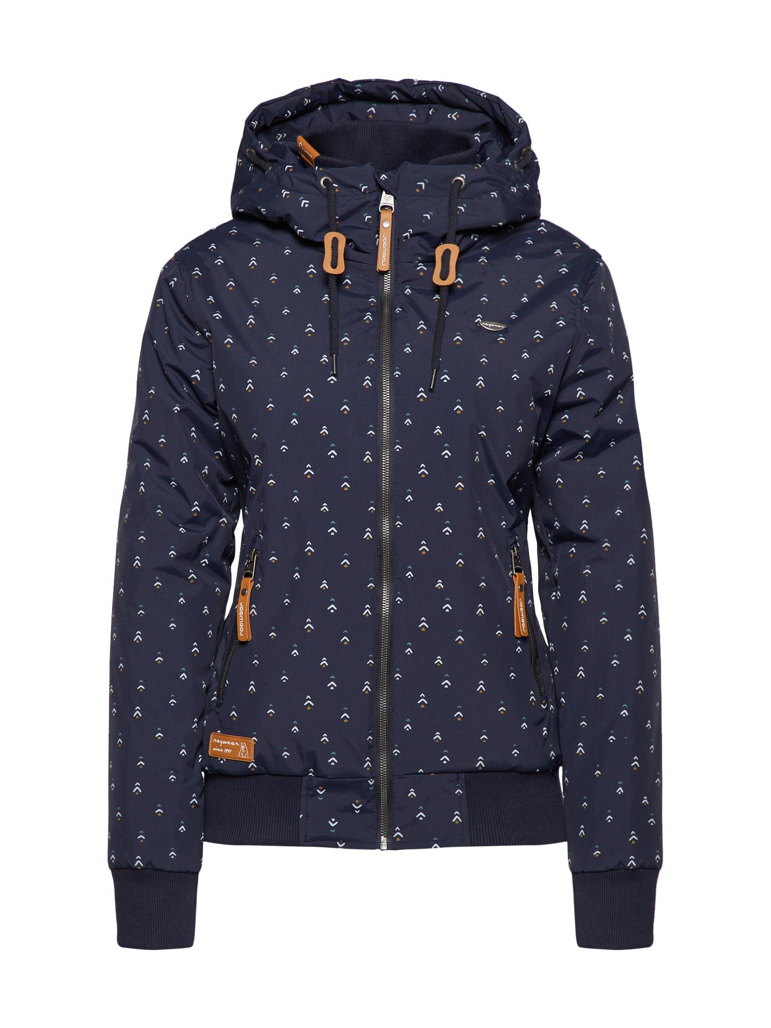 Přechodná bunda NUGGIE A námořnická modř Ragwear