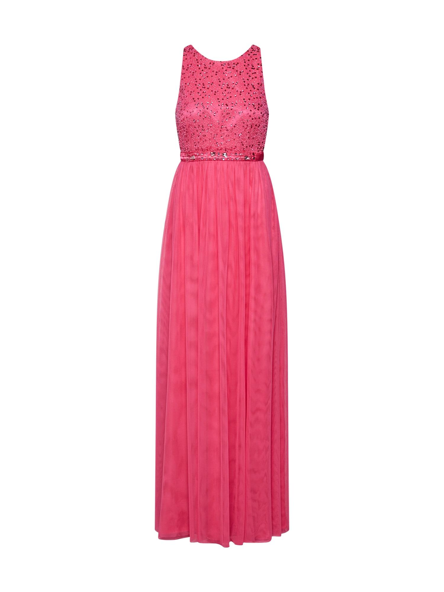 Společenské šaty tmavě růžová VM Vera Mont