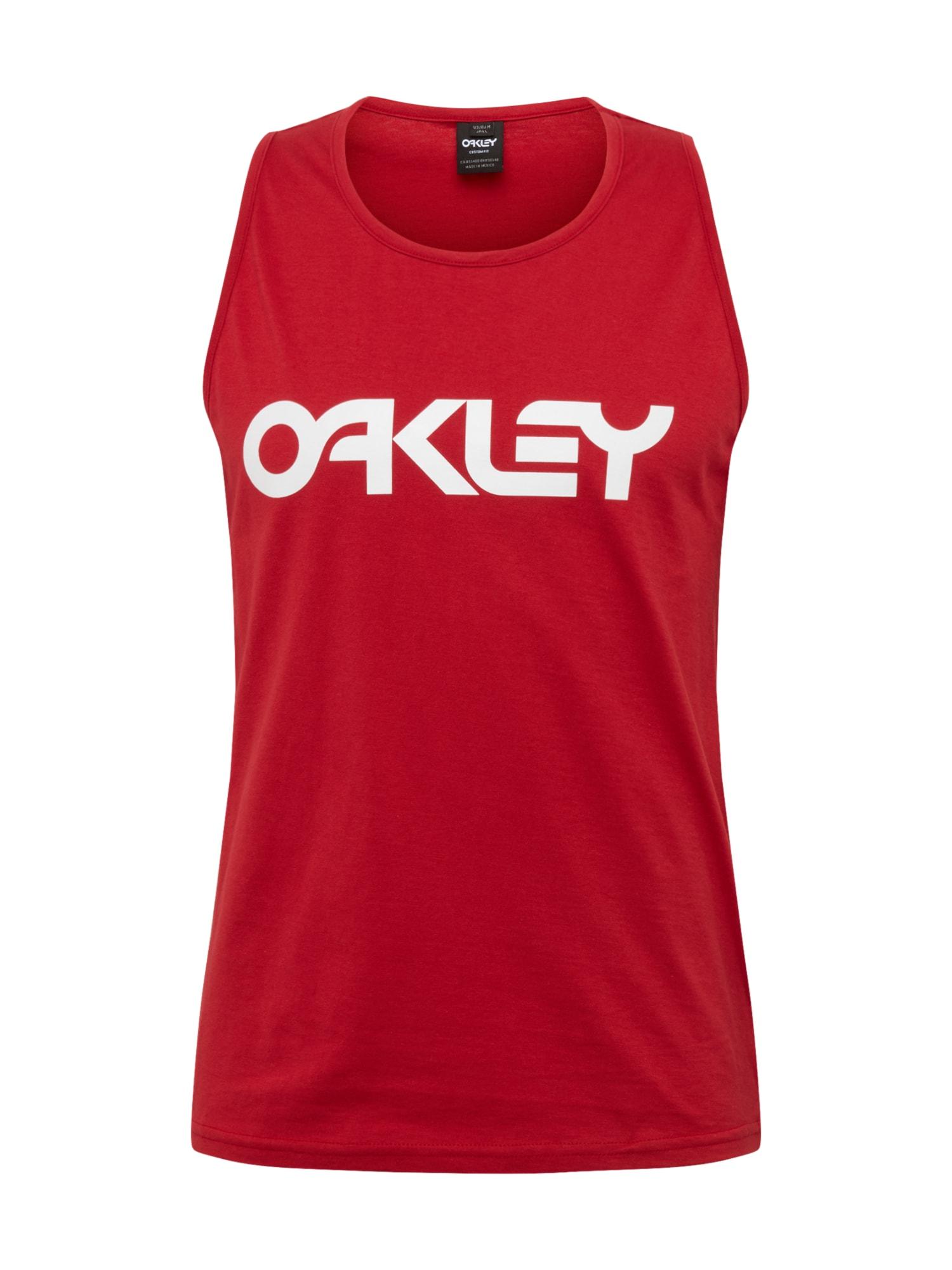 OAKLEY Sportiniai marškinėliai 'MARK II' raudona