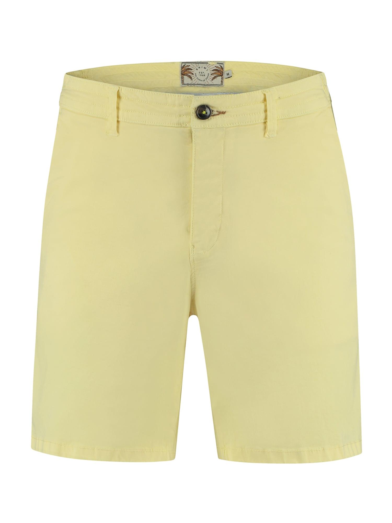 """Shiwi """"Chino"""" stiliaus kelnės geltona"""