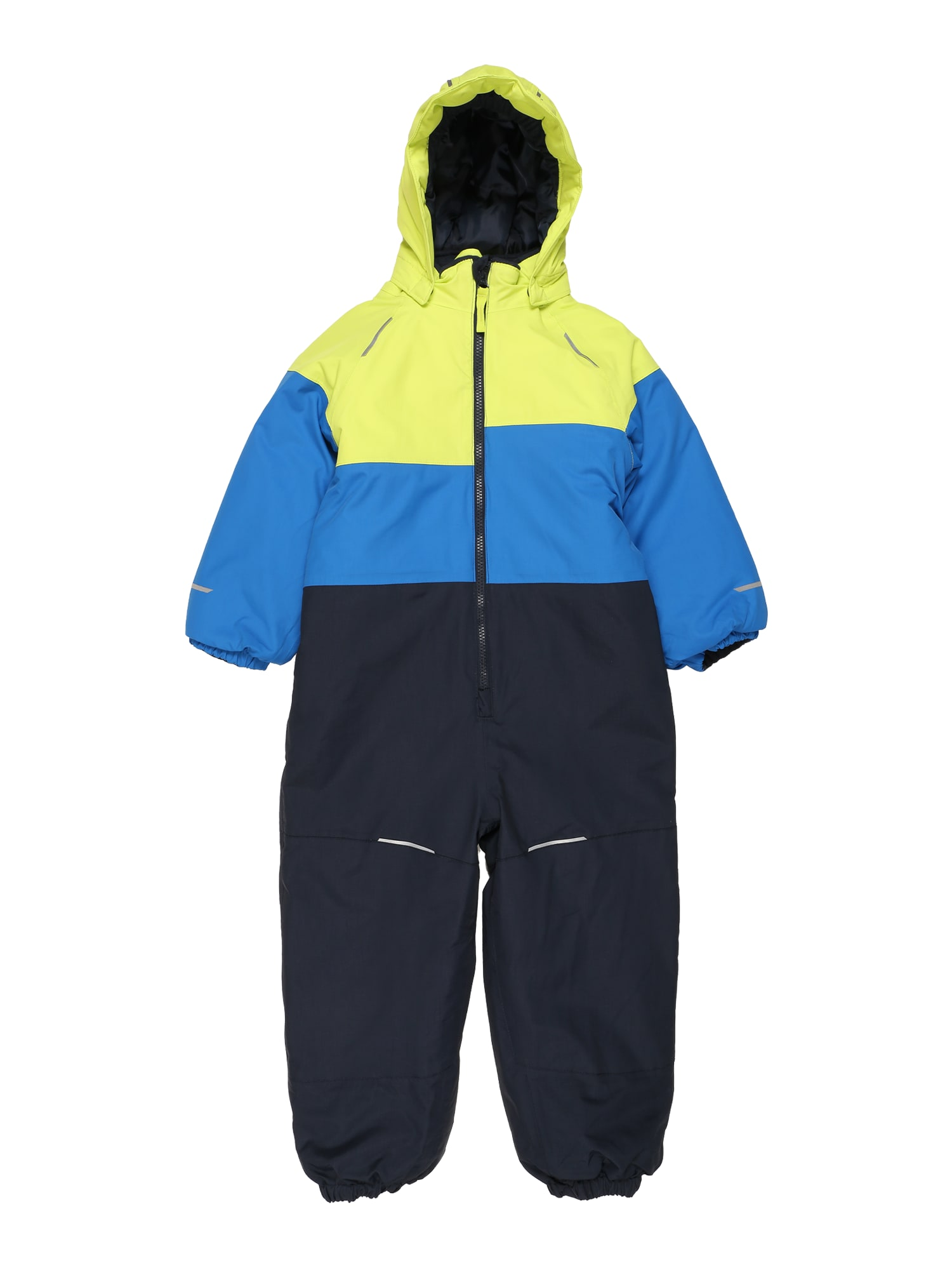 NAME IT Funkcinis kostiumas dangaus žydra / neoninė žalia / tamsiai mėlyna