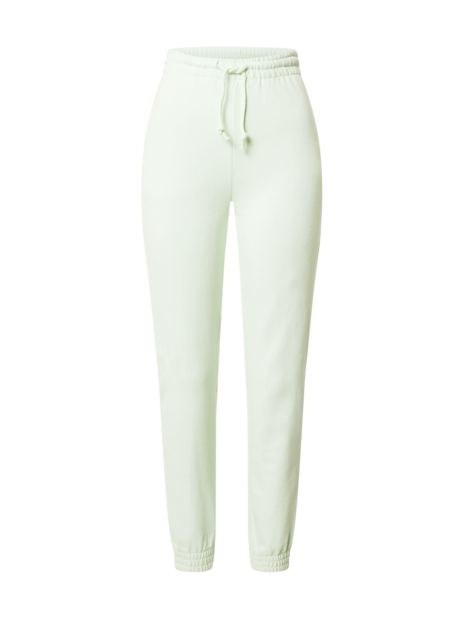 Gina Tricot Kelnės 'Abbie' pastelinė žalia
