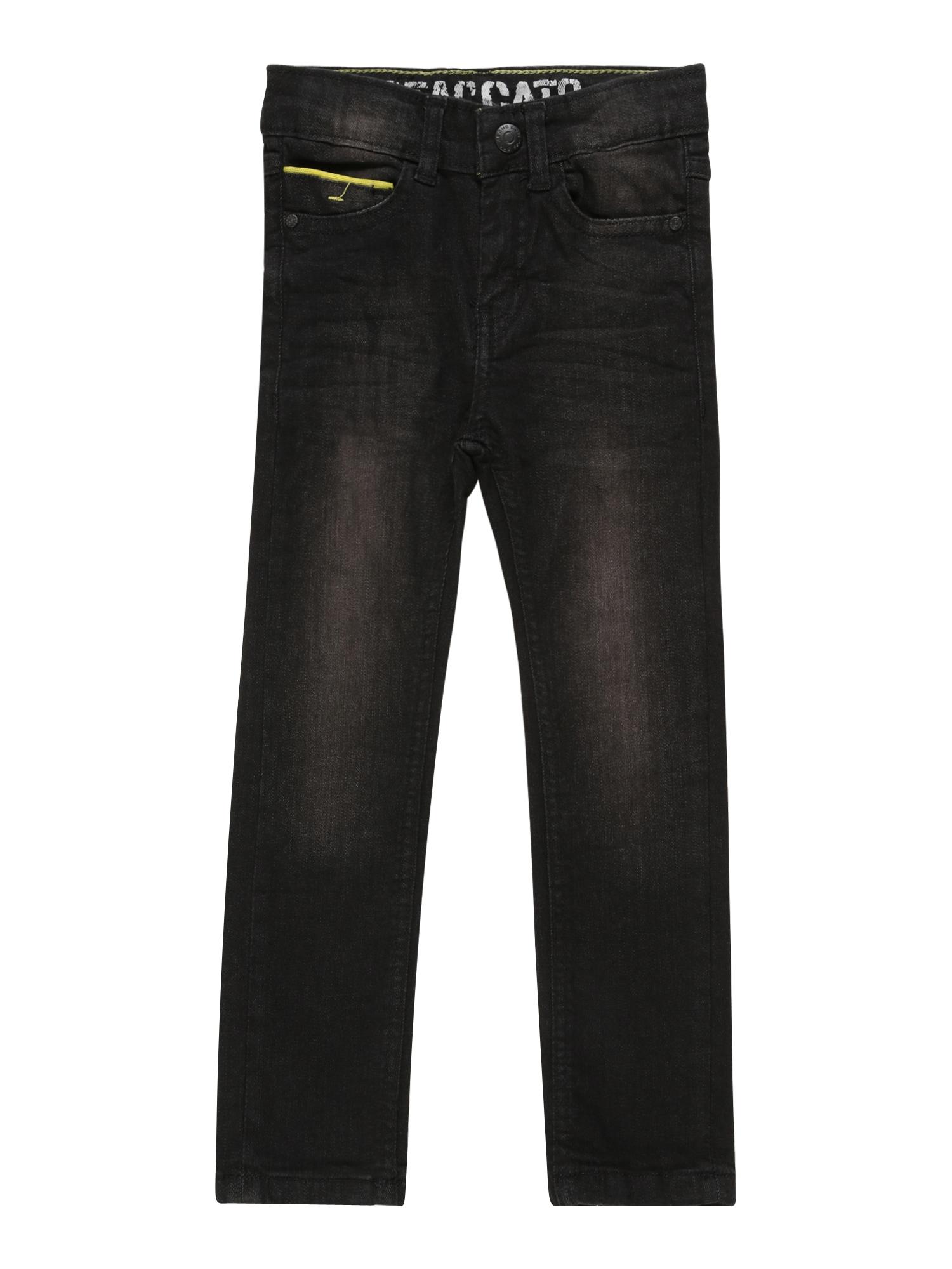 STACCATO Džinsai juodo džinso spalva