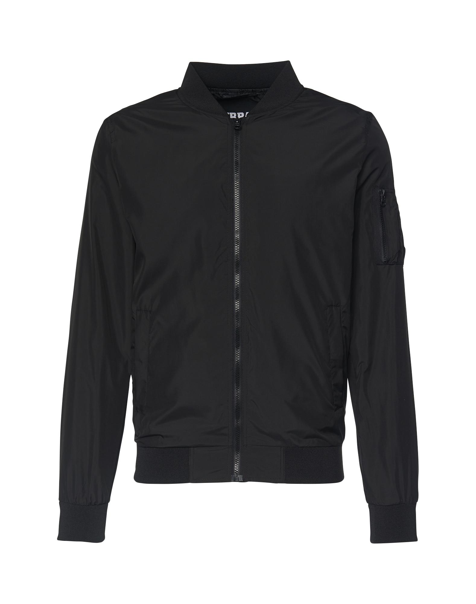 Urban Classics Demisezoninė striukė 'Light Bomber Jacket' juoda