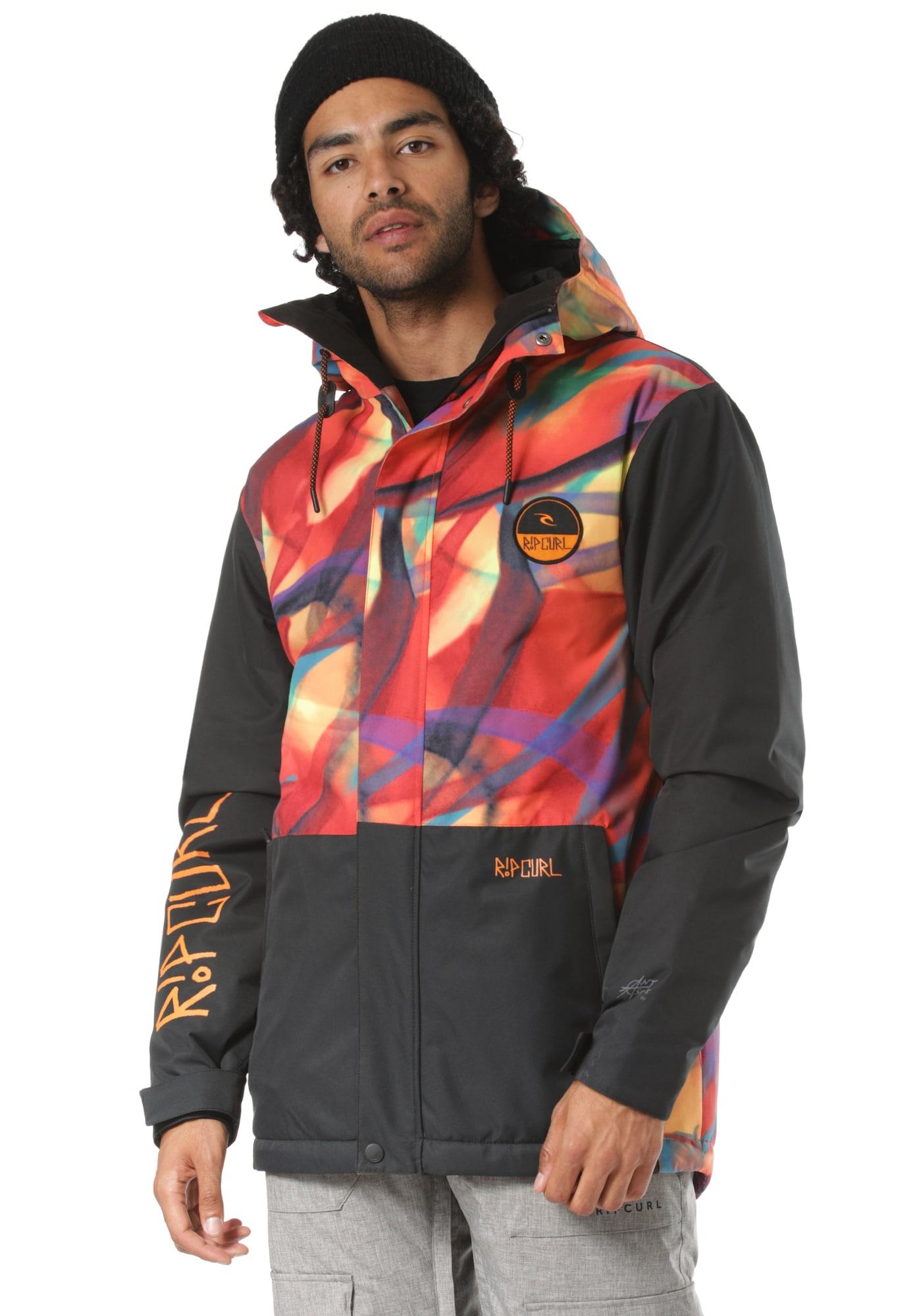 Herren Rip Curl Snowboardjacke 'The Top Notch' bunt,  mehrfarbig | 09353970079004
