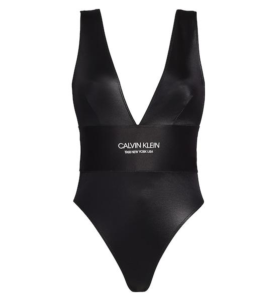 Bademode - Swimsuit 'Black Feature' › Calvin Klein › schwarz  - Onlineshop ABOUT YOU