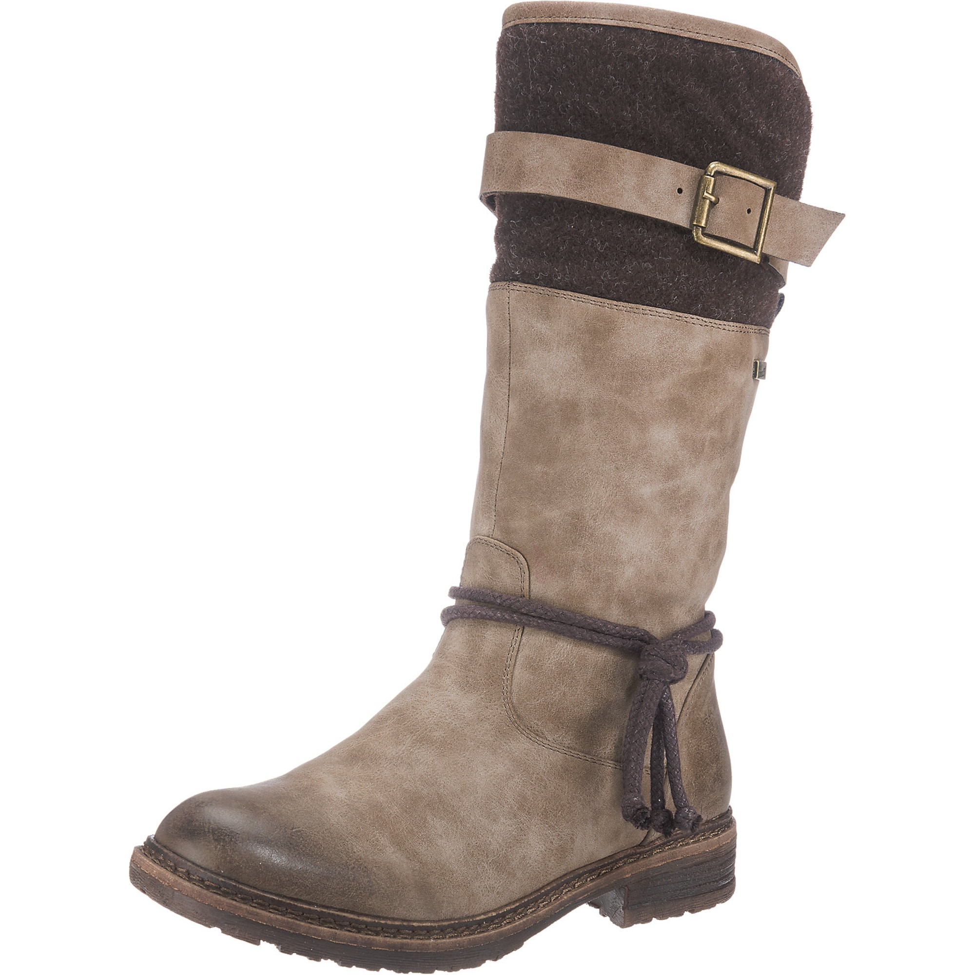 huge selection of e15d1 c22a5 AboutYou | SALE Damen RIEKER Stiefel beige, braun ...