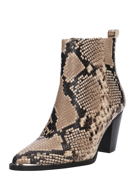Stiefel für Frauen - Samsoe Samsoe Stiefeletten 'GINZA 10557' sand anthrazit  - Onlineshop ABOUT YOU