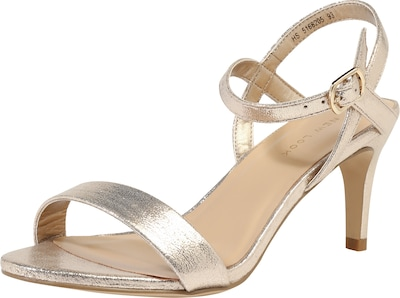 NEW LOOK Sandalette 'Sheep' im Gold-Look