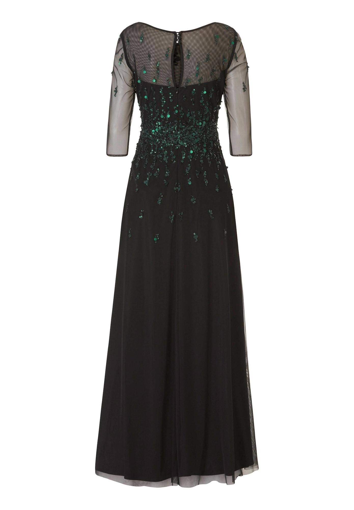 Vera Mont Kleid basaltgrau / schwarz - Schwarzes Kleid