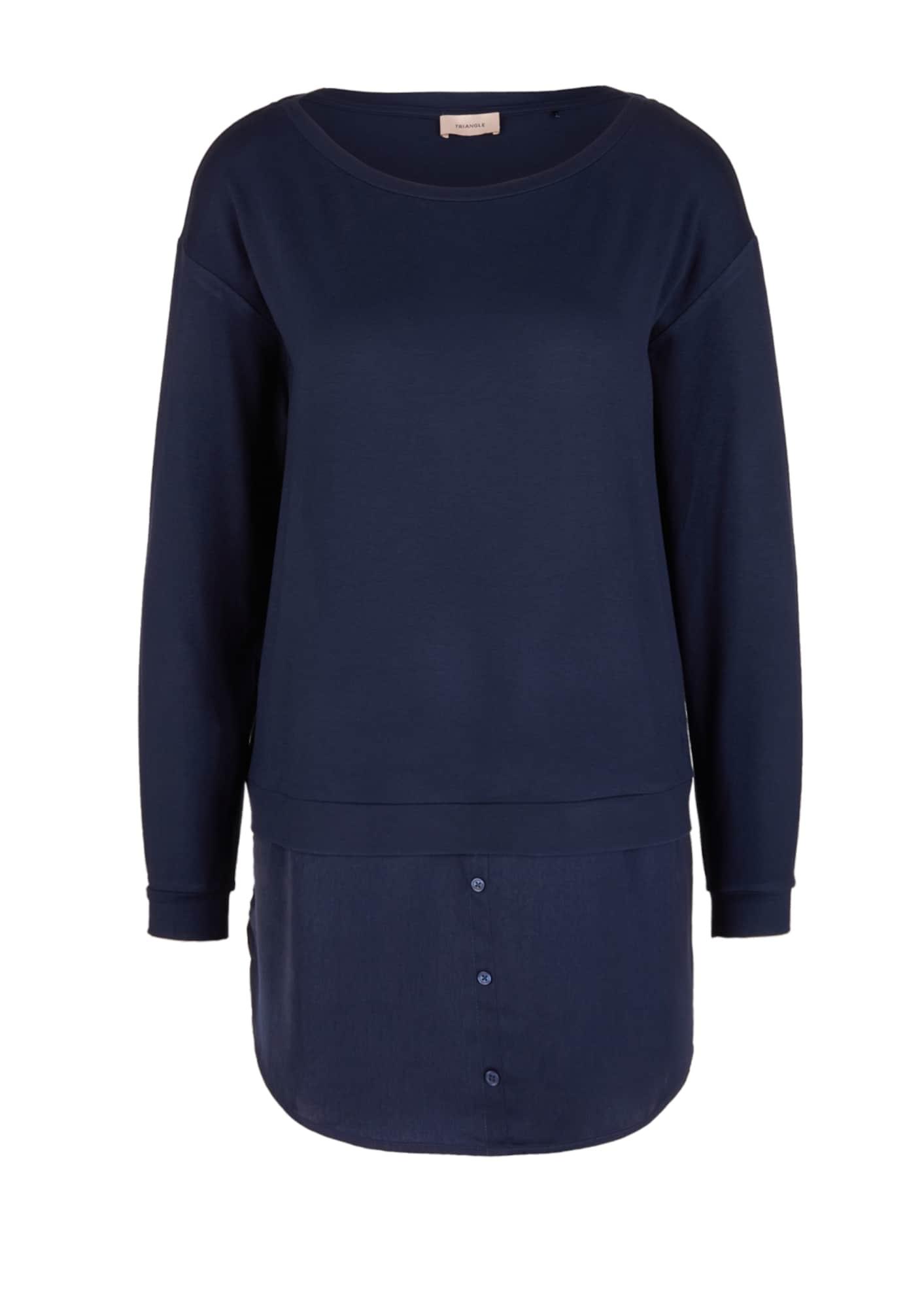 TRIANGLE Marškinėliai nakties mėlyna
