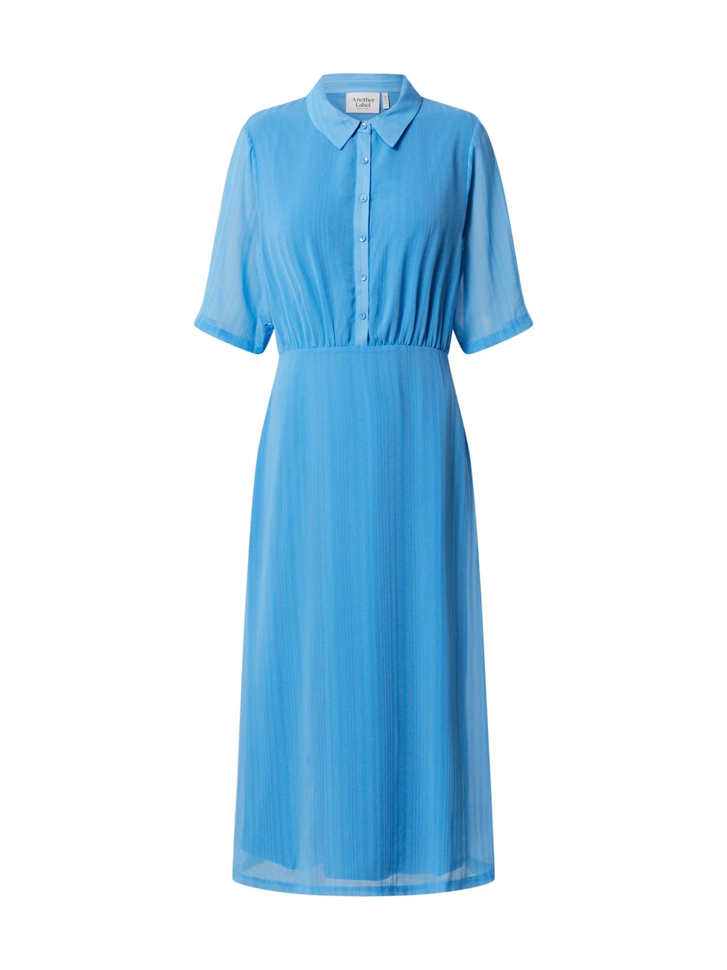 Another Label Košeľové šaty 'Ancelin'  azúrová