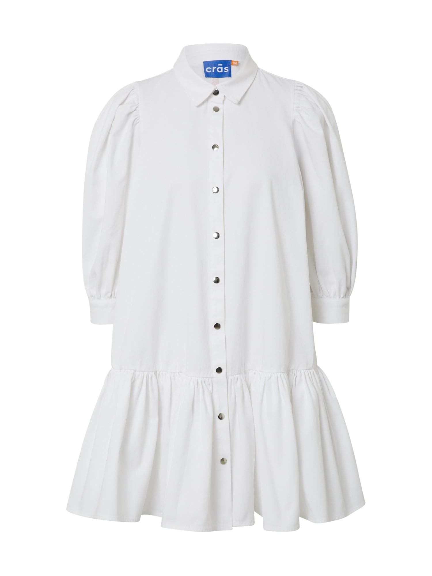 Crās Palaidinės tipo suknelė 'Manacras' balta