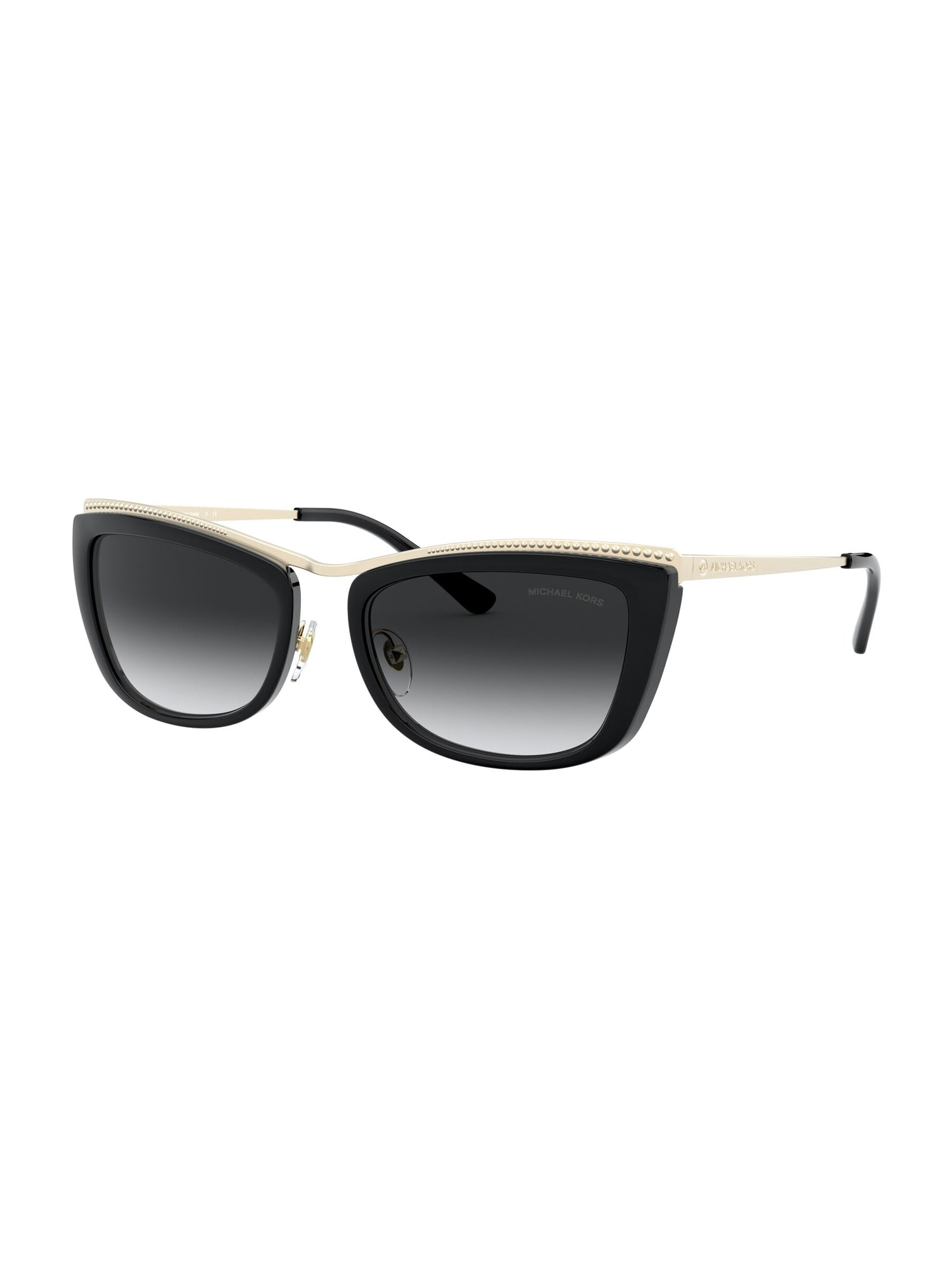 Michael Kors Slnečné okuliare  zlatá / čierna