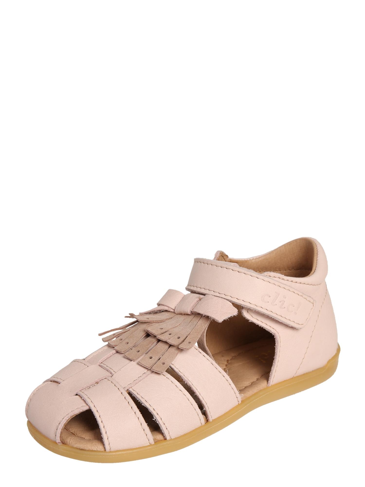 Sandály CL-9763 růžová Clic