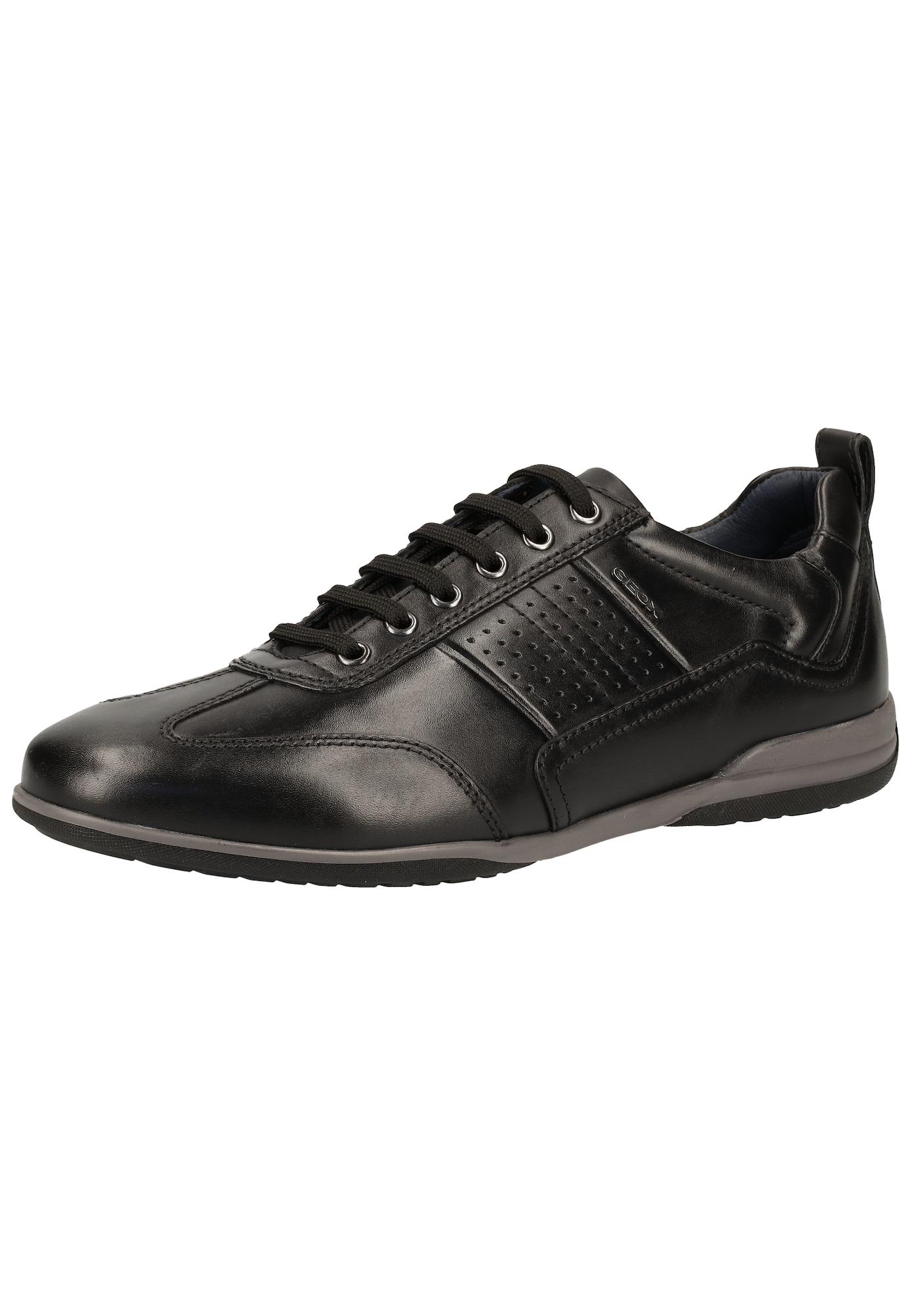 GEOX Sportinio stiliaus batai su raišteliais 'U TIMOTHY' juoda
