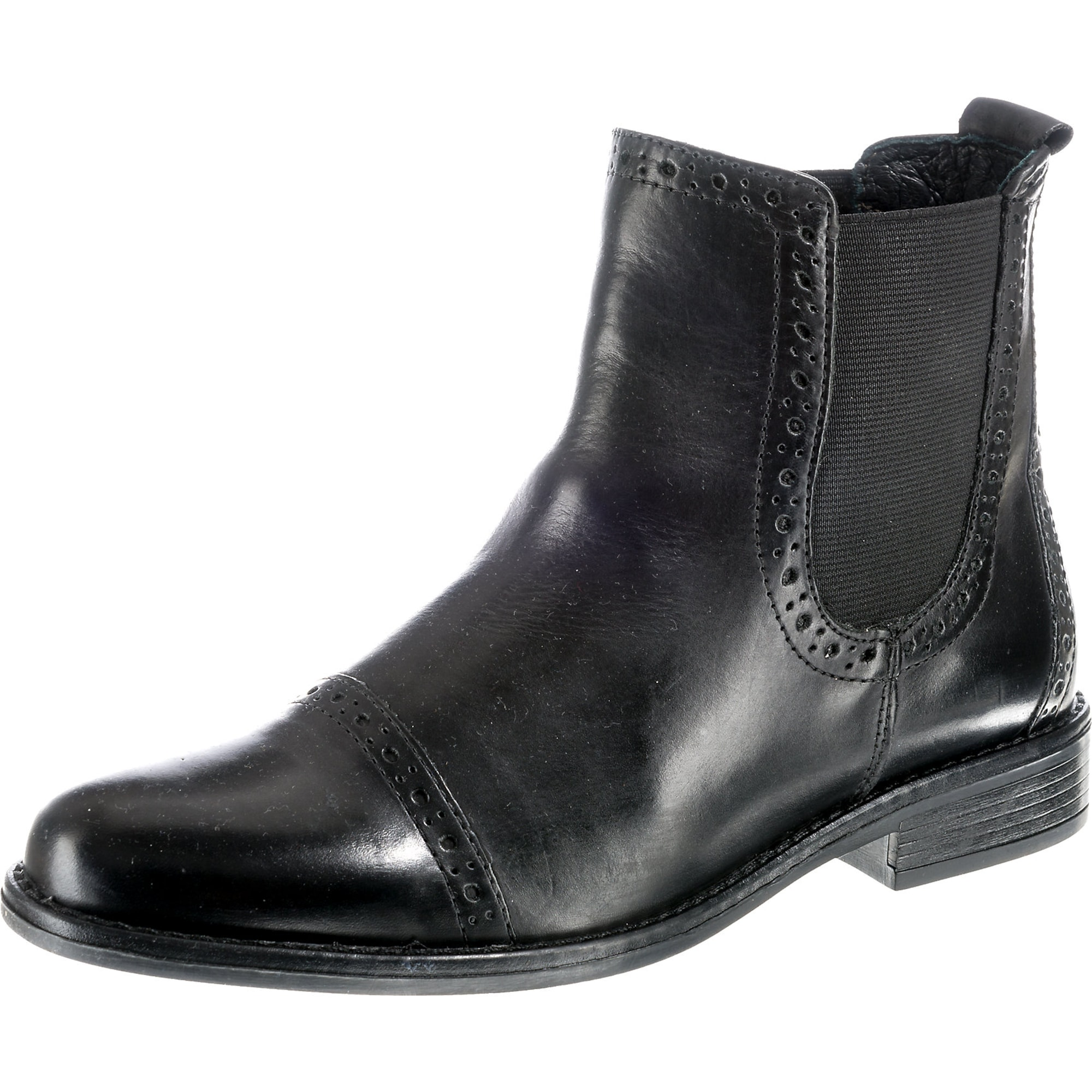 Chelsea boty černá Pier One