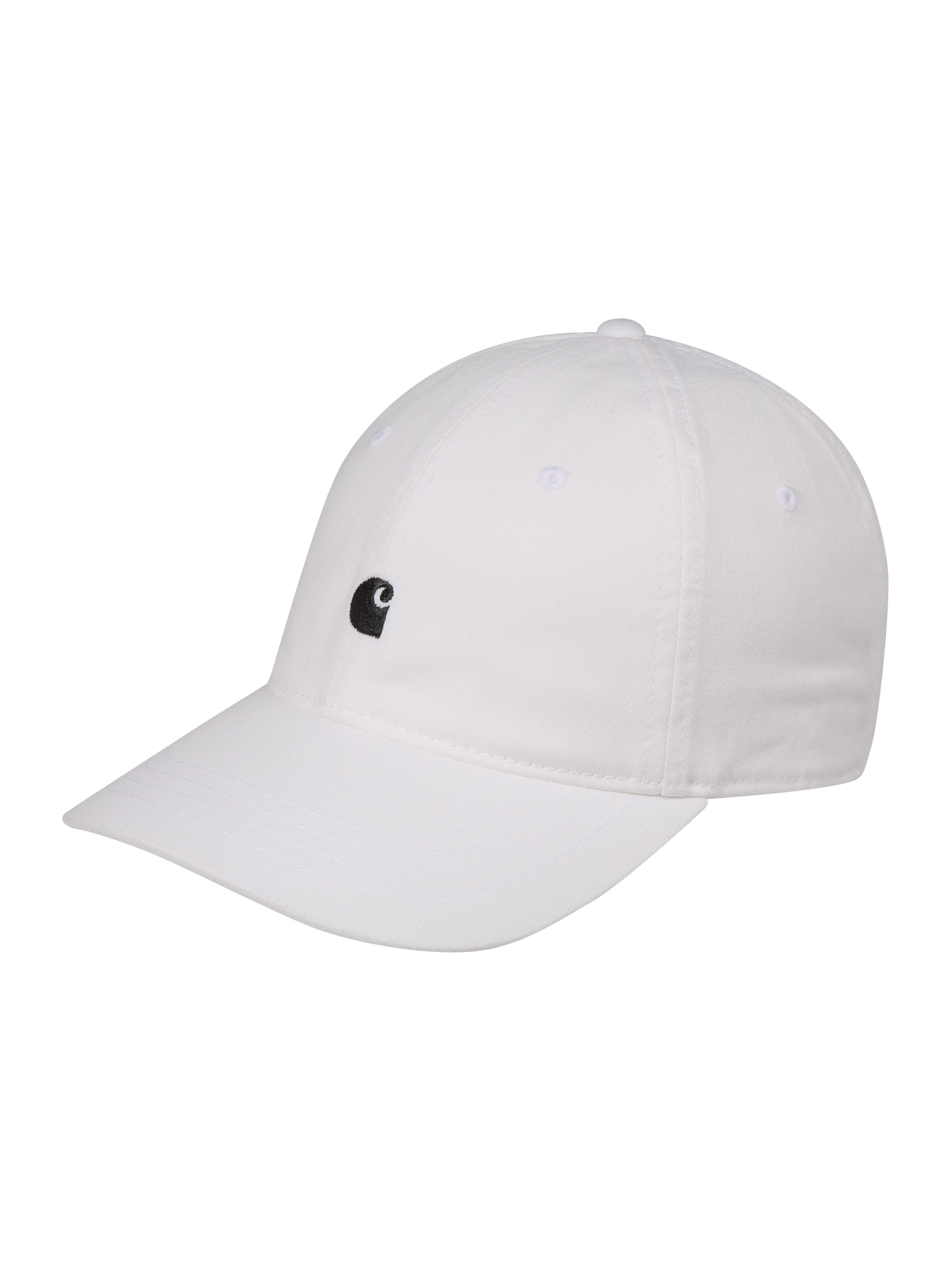 Carhartt WIP Kepurė 'Madison' juoda / balta