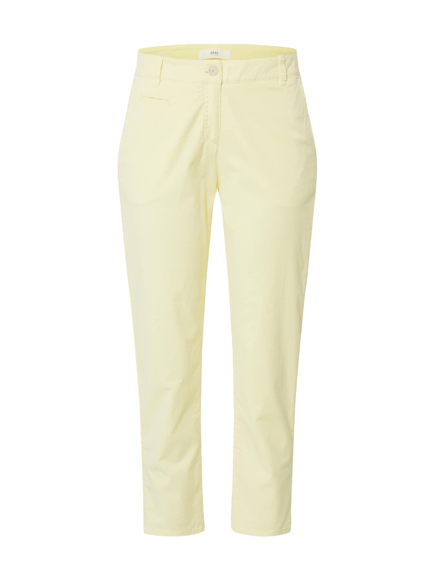 BRAX Chino stiliaus kelnės 'RHONDA S' geltona