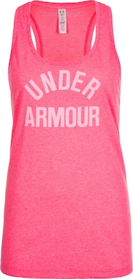 UNDER ARMOUR 'HeatGear Threadborne Wordmark' Trainingstank